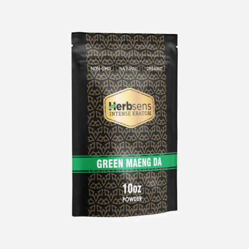 Main image of Kratom green Maeng da powder 10oz