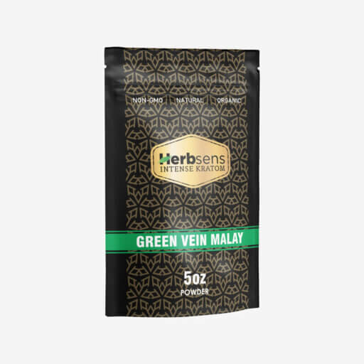 Main image of Kratom green vein Malay powder 5oz