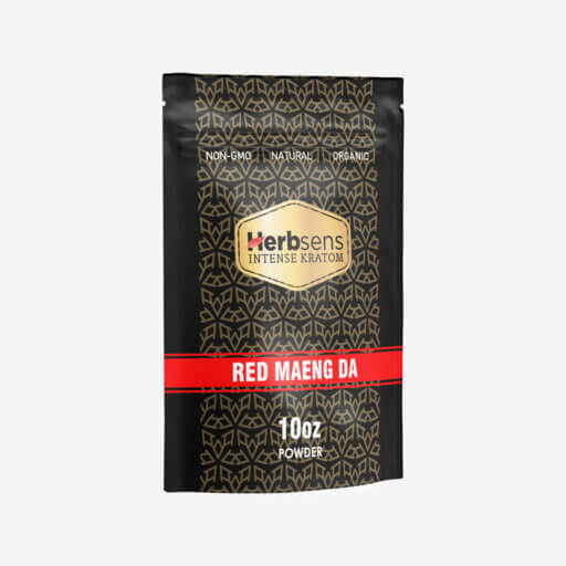 Main image of Kratom red Maeng da powder 10oz