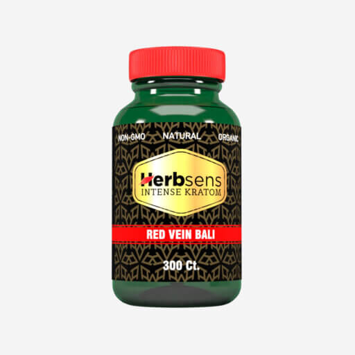 Main image of Kratom red vein Bali 300ct